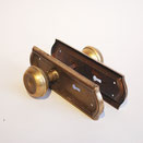 ath-055-1 antique hardware vintage lever steel brass rust アンティーク 金物 ビンテージ レバー スチール 真鍮 錆 american アメリカン