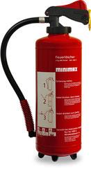 Feuerlöscher PU 6 G, PU 9 G und PU 12 G