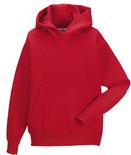 Textildruck Kid's Hooded Sweat RUSSELL