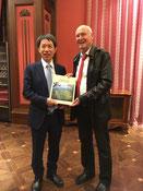 Vicepräsident HU Sishe (CPAFFC)