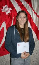 Sarah Rauber - 9. Rang KD Mannschaft Schweizermeisterschaft GETU