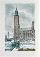 Rathaus von Stockholm