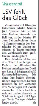 Hannoversche Allgemeine Zeitung/Anzeiger für Burgdorf und Lehrte vom 12.09.2013