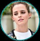 Emma Watson en Zero Gravité flotario en Buenos Aires