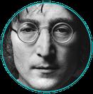 John Lennon en Zero Gravité flotario en Buenos Aires