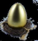 Herzlichen Glückwunsch!!!!!!!!!!               Sie haben das Goldene Ei gefunden.