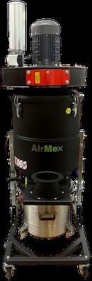 AirMex FAB-40 ATEX Industriesauger ATEX Absauganlage mit Absaugarm Ex-Schutz