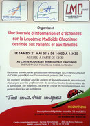 LMC France Avignon reunion patient proche leucemie myeloide chronique