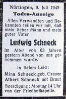 Nürtinger Zeitung vom 09. 07. 1949
