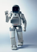 Asimo Waves Hello