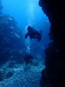 石垣島の東海岸 ダイナミックな地形