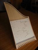 Veeh-Harfe (Tischharfe)