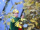 E. Aydin bei der Baumpflege