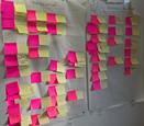 Séance d'intelligence collective pour établir le plan d'action poru terminer l'analyse.