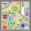 Entwurf Stadtplan