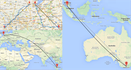 Münster-Krefeld-Amsterdam-Kuala Lumpur-Melbourne