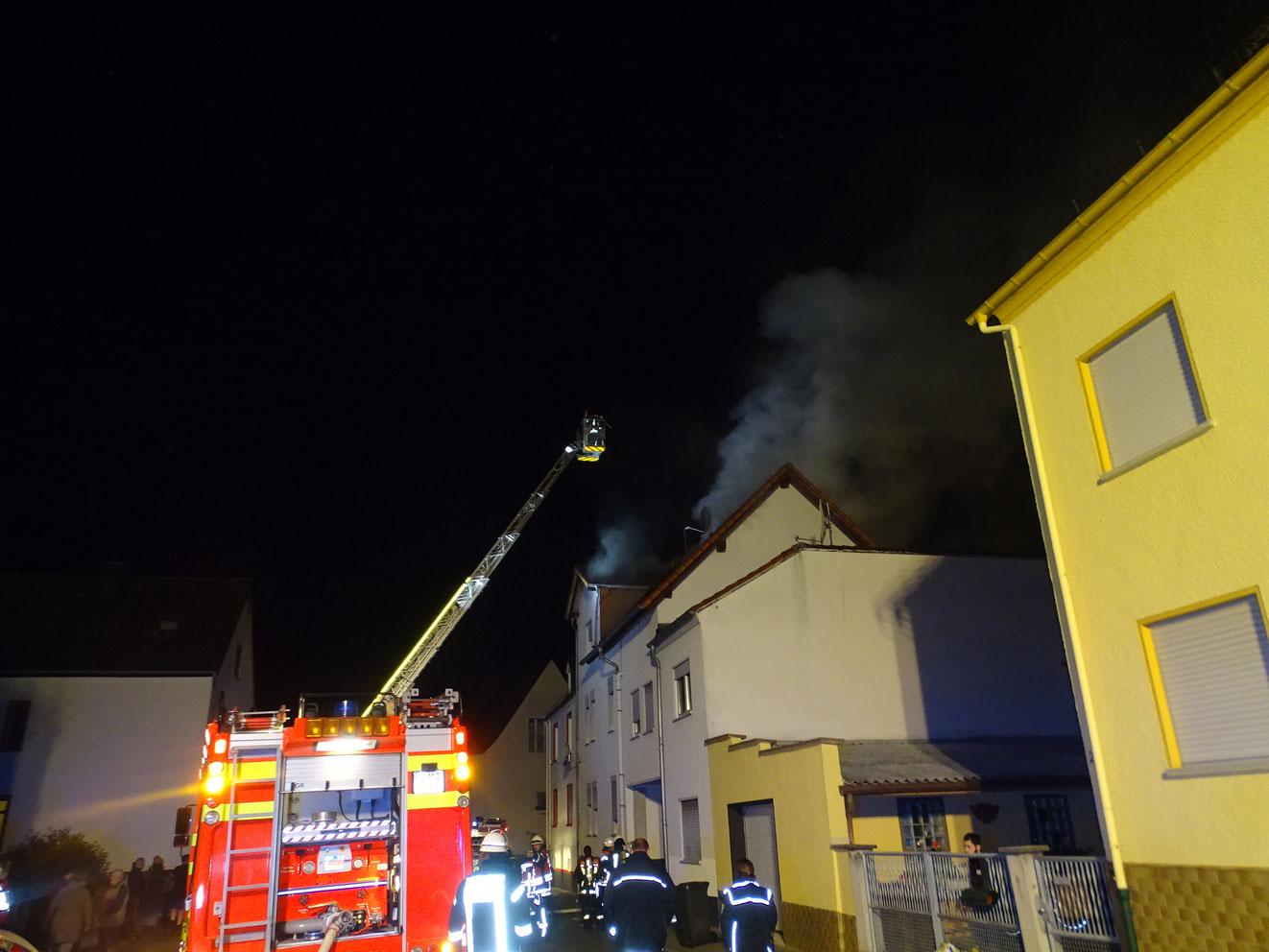 Brand Eschhofen 09.11.2017 - (c) FF Limburg