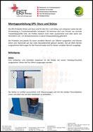 Montageanleitung SPS-Stütze und Sturz