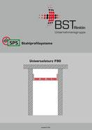 Broschüre Universalsturz F90