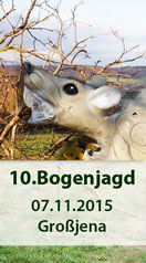 10. Bogenjagdturnier am 07.11.2015 in Grossjena