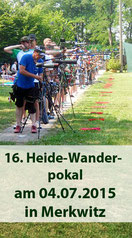 16. Heide-Wanderpokal am 04.07.2015 in Merkwitz