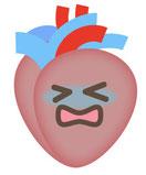 心臓の機能が低下