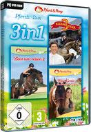 3in1 Pferde-Box: Riding Star 3 + Lass uns reiten 2 + Mein Gestüt – Ein Leben für die Pferde - Press Info