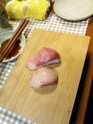 就職祝い寿司会