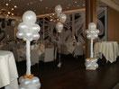 Ballon Dekoration für die Hochzeit