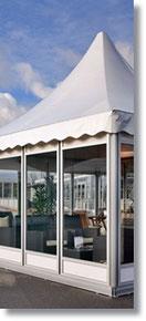 Zeltpagoden und Pavillons