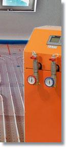 Elektro-Warmwasserheizung