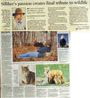 Bill Silliker Jr. wildlife photograher Maine Sunday Telegram Stephanie Bouchard