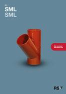Broschüre für SML-Abwasserrohre von RSP®