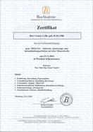 Zerifikat TRGS 521