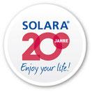 20 Jahre Solartechnik, Solarmodule, Laderegler, Wechselrichter, Solaranlagen stand alone off grid sysyteme für Wohnmobile, Camper, Reisemobile, Segelyachten, Ferienhäuser und Industrie weltweit von SOLARA. Der Solarspezialist aus Hamburg seit 20 Jahren.