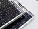 Solarmoule mit Rahmen - Made in Germany! Solarmodule zum laden von 12 Volt Batterien mit 125 Watt, 160 Watt, 95 Watt, 120 Watt, 190 Watt, 110 Watt. Ideal für Wohnmobile, Reisemobile, Camper, Reisebusse und Van. Einfach auf dem Dach. Test sehr gut!