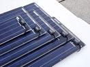 Hochleistungs Solarmodule ohne Rahmen für 12 Volt. Solarmodule von mit 12 Watt, 27 Watt, 41 Watt, 55 Watt, 80 Watt, 115 Watt, 105 Watt, 120 Watt, 150 Watt haben alle Tests bestanden. Ideal zum aufkleben auf dem Camper, Van, Campingbus und off road Landy.