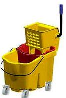 Cubeta Exprimidora de 36 Lts Amarilla de Lujo