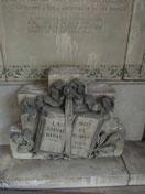 1ère pierre du nouveau Temple à reconstruire posée                                                                                                                         le 23 octobre 1921