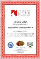 Zertifikat Hypnosetherapie HypnoPlus