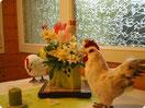 Table de Pâques au gîte