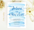 navy and blue wedding