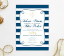 nautical wedding invites