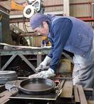 建築鉄骨の昭和屋工業 昭和屋金物 熟練の技を活かした丸型の極厚鉄板