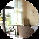 Ausschnitt Besucherzimmer ZUGvogel Hospiz Sulingen