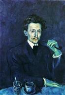 Picasso fume la pipe mais pas une Louis Vuitton