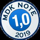 Ausgezeichnet 2014 - MDK Note 1,1