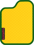 Коврик EVA желтый