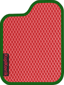Коврик EVA красный