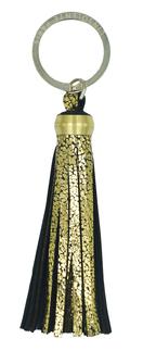 Pompon cuir léopard - porte clés - accessoire L'Insolente Paris